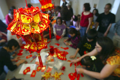 SAN LEANDRO LIBRARY'S JOY LUCK CLUB CELEBRATES LUNAR NEW YEAR
