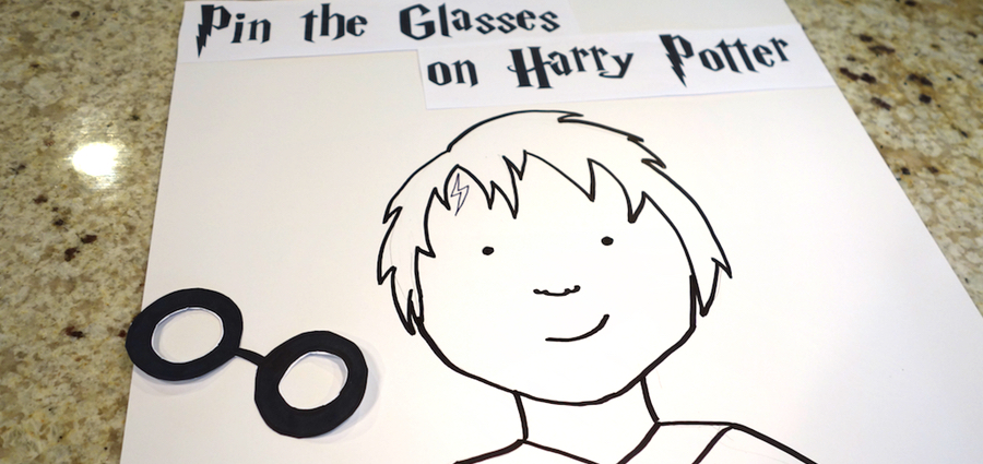 picture about Harry Potter Glasses Printable referred to as Do-It-Oneself Application: Harry Potter Get together